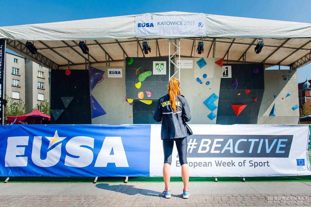 Promotion of the #BeActive campaign