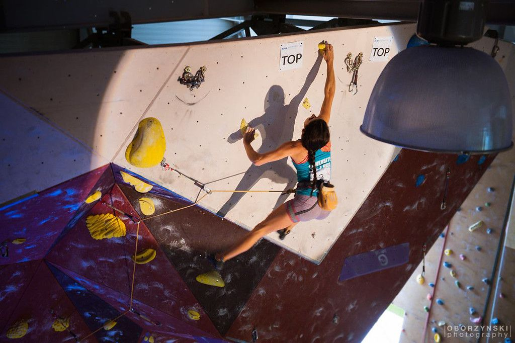 Climbing competitions in several categories