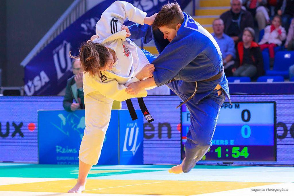 Female judokas