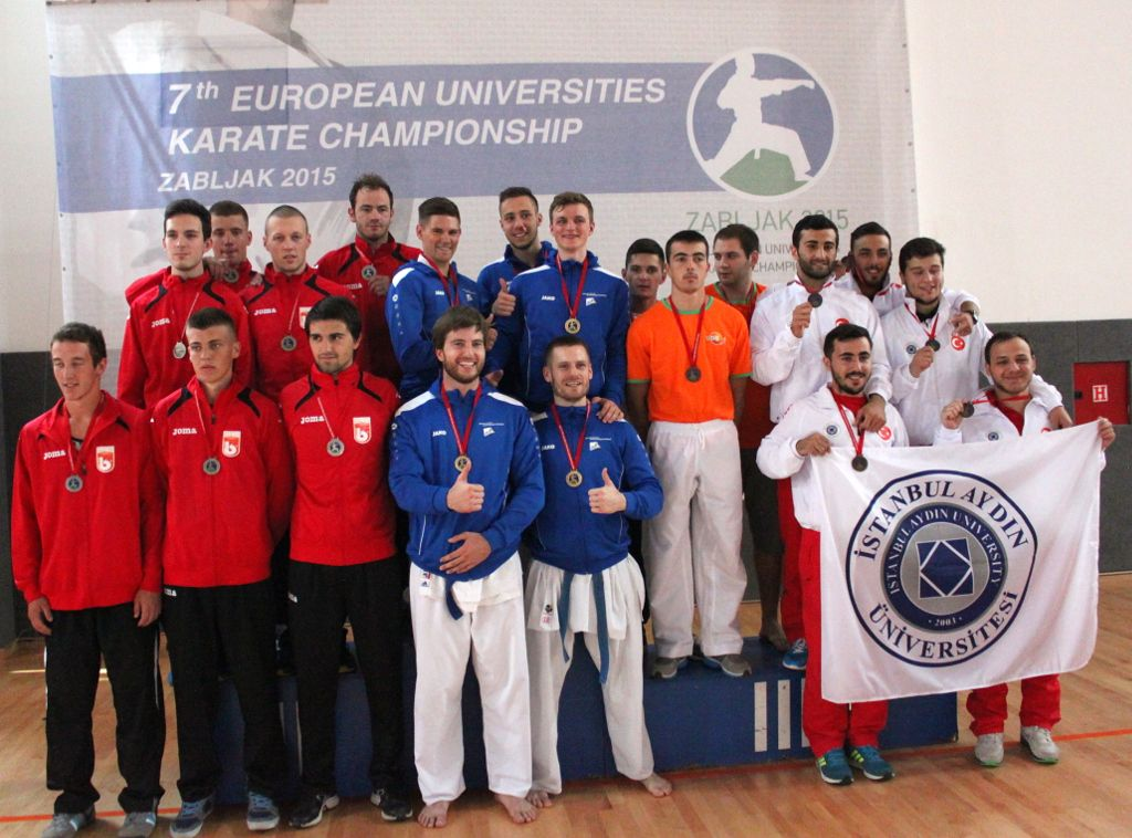 Men's team medallists