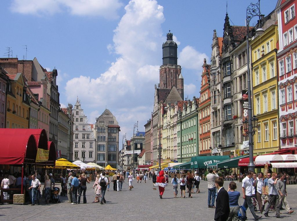 Wroclaw, host city of the 2016 EUSA General Assembly