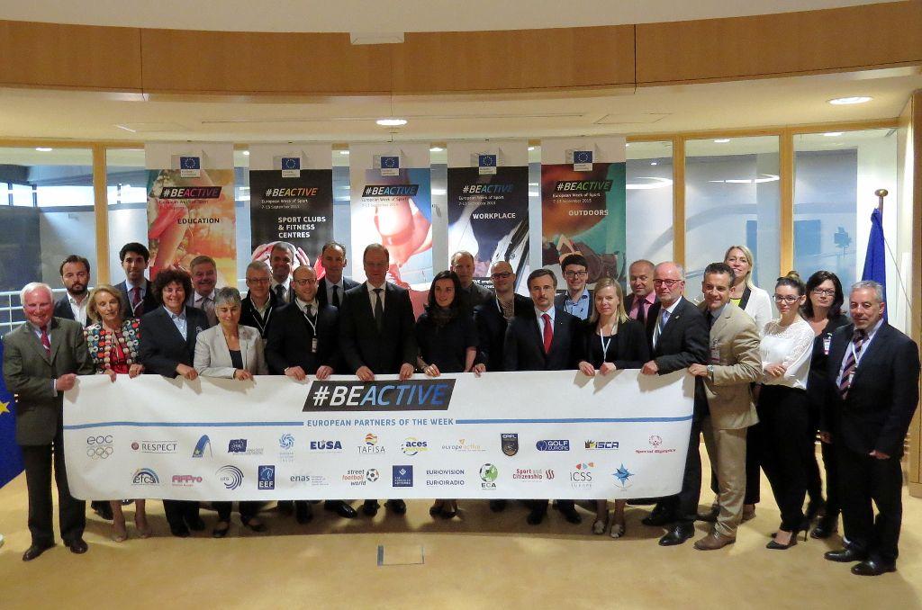 European Week of Sport Partners