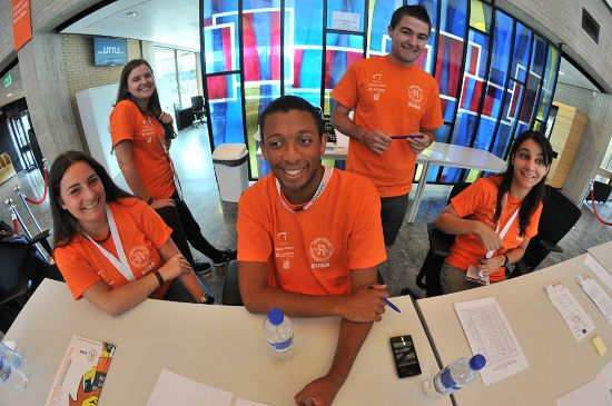 EUSA Volunteers at the European Universities Games Rotterdam 2014