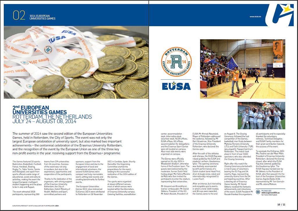 EUSA Games 2014