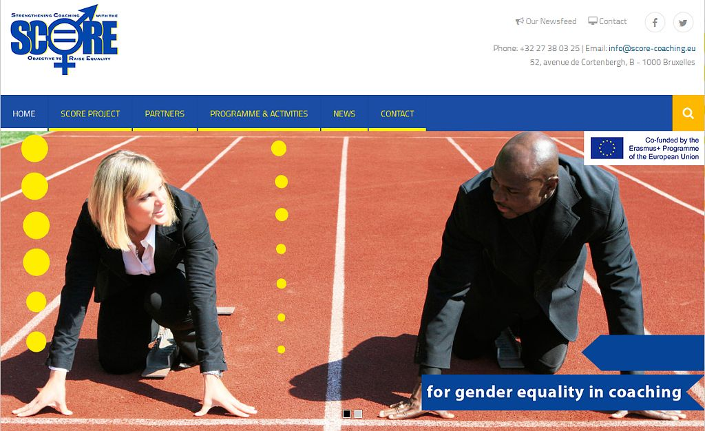 SCORE: Gender equality in coaching