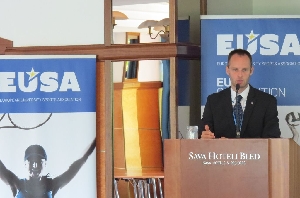 EUSA Projects and Communications Manager Mr Andrej Pisl