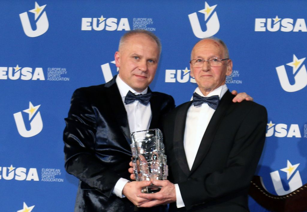 EUSA Honour of Merit - Miroslav Cerar
