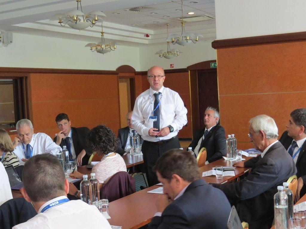 Mr Dusan Vystavel, EUSA Technical Delegate for Orienteering