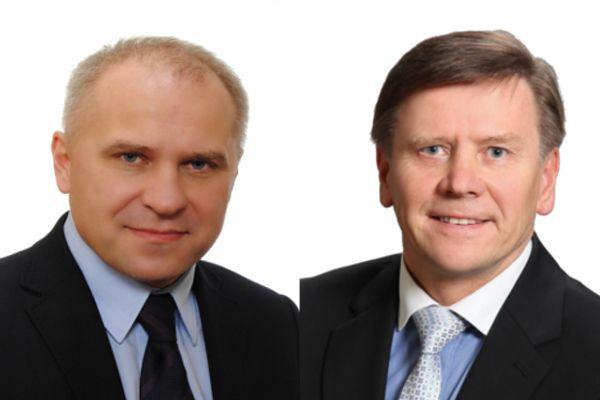 EUSA President Mr Adam Roczek and IOC President Mr Leho Haldna