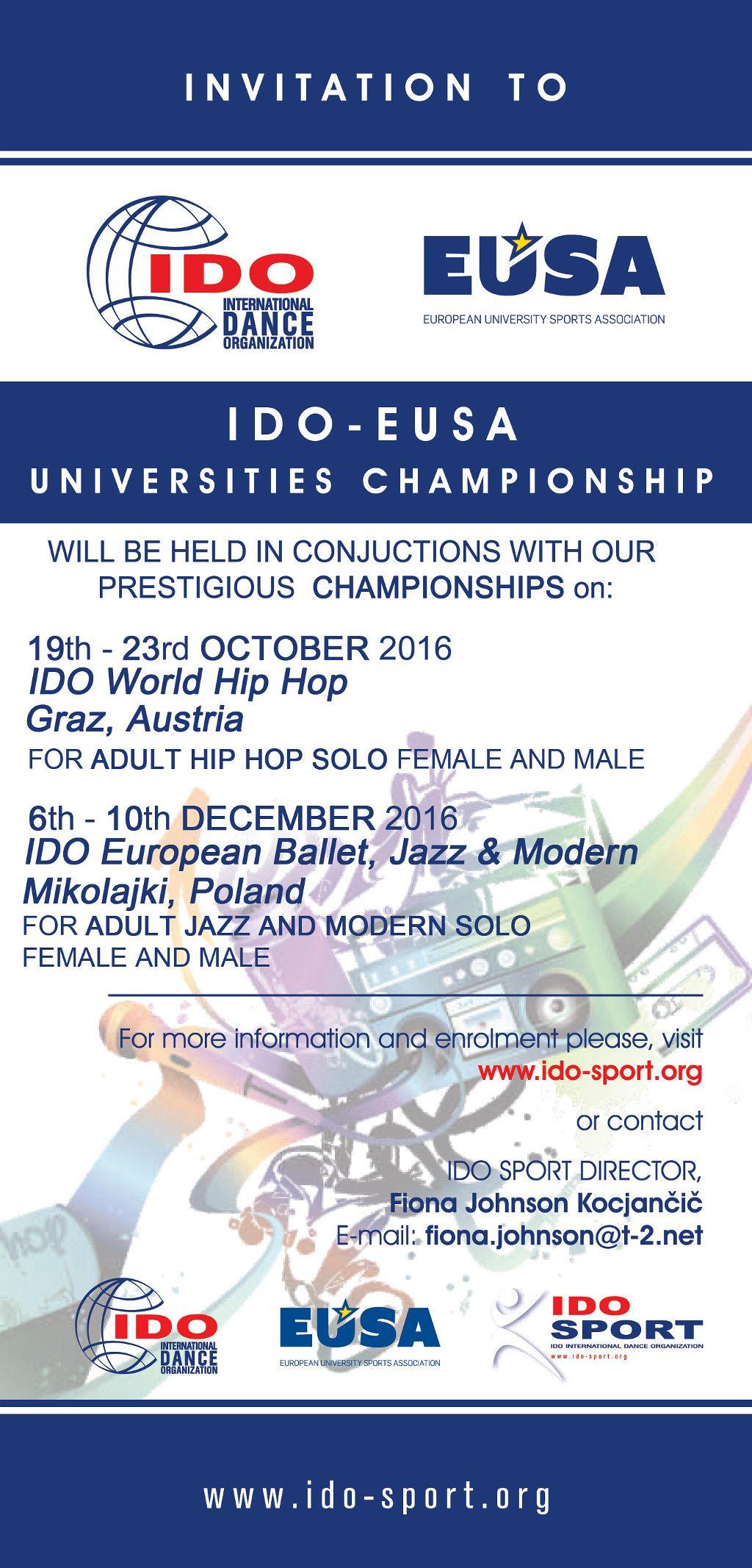 EUSA-IDO Championships 2016