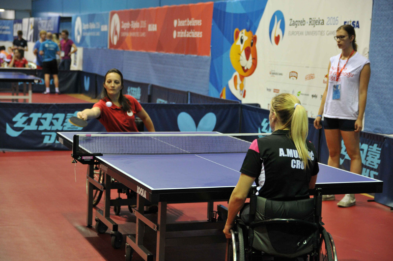 Para Table Tennis at the European Universities Games