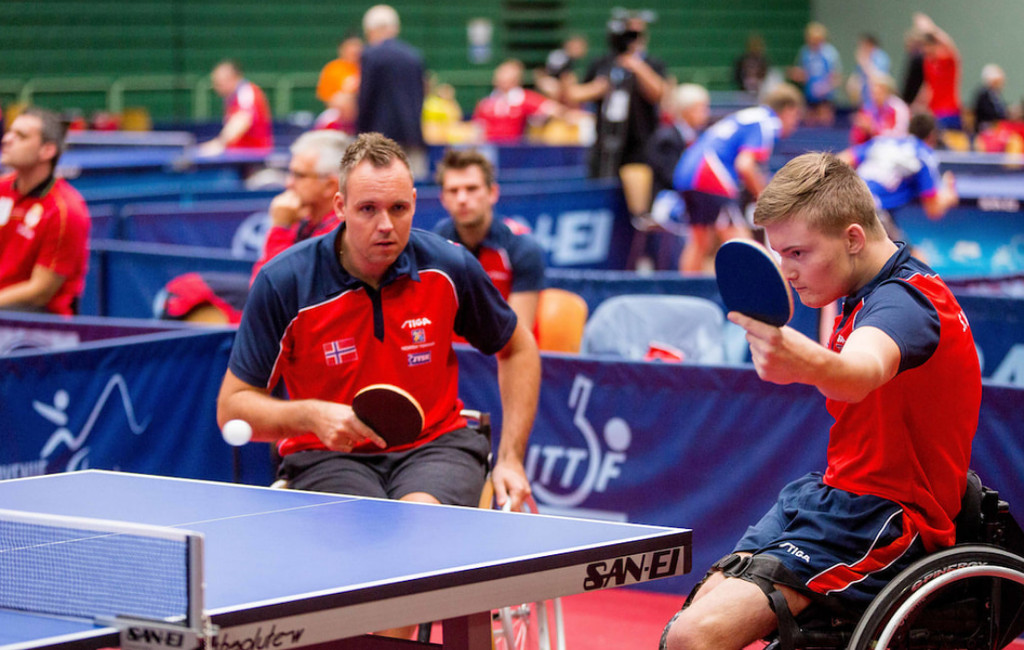 Table Tennis competition at EPINT2017