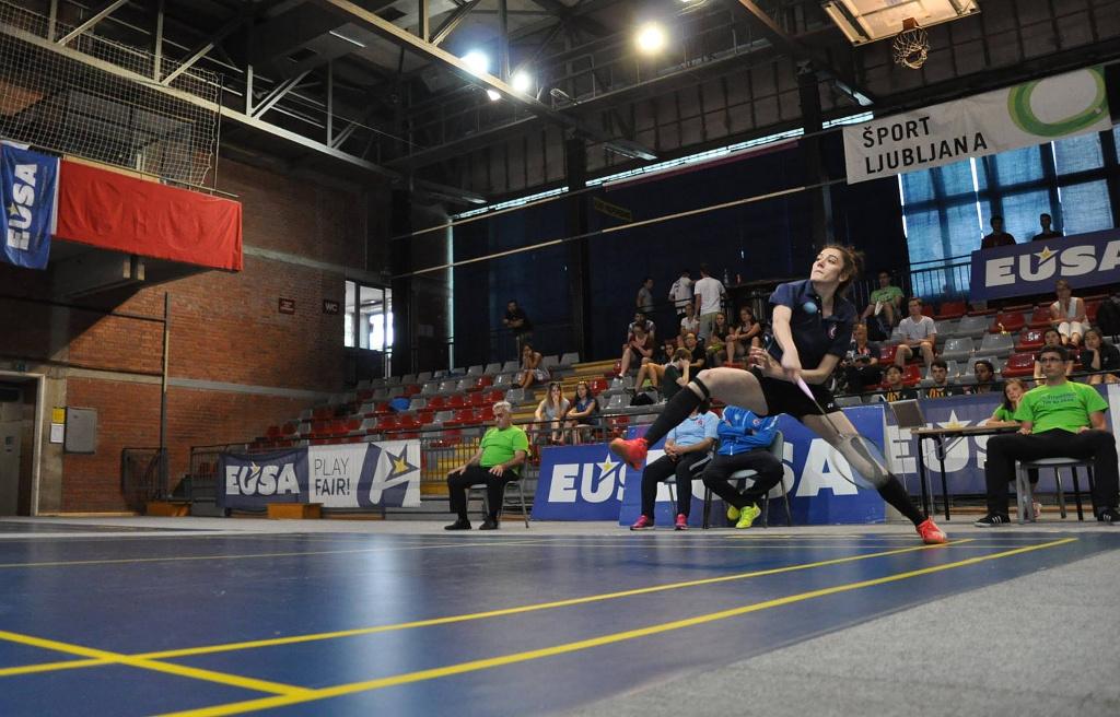 European Universities Badminton Championship 2017 Ljubljana Slovenia