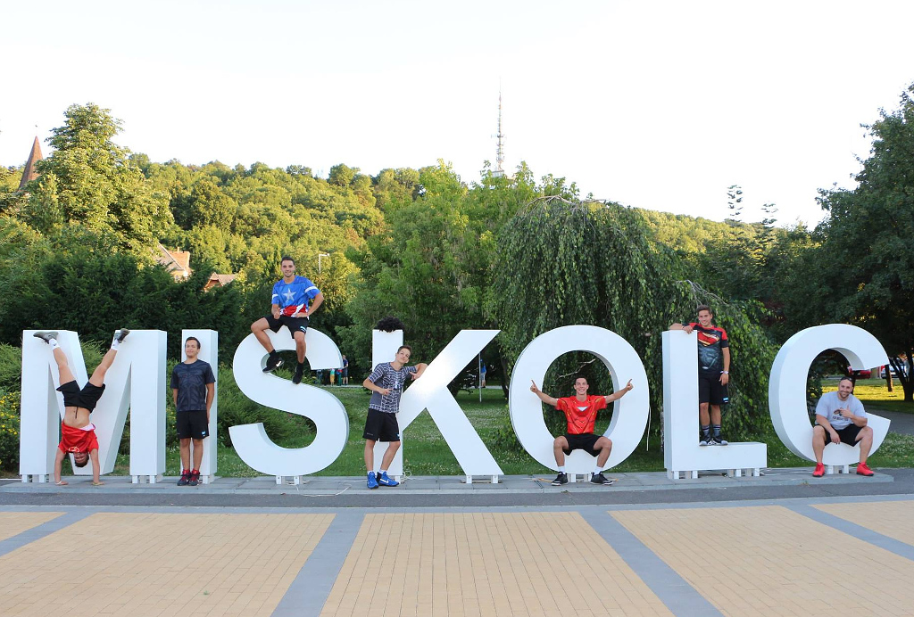 City of Miskolc is welcoming student athletes from all over Europe