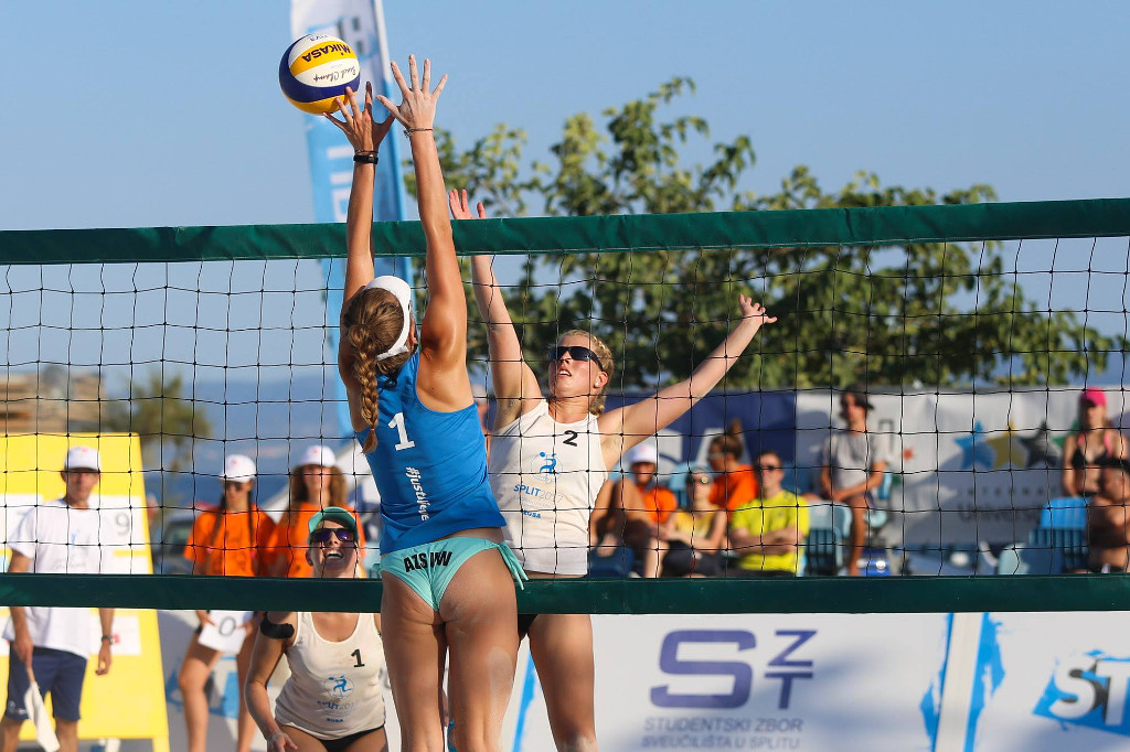Attractive beach volleyball competitions