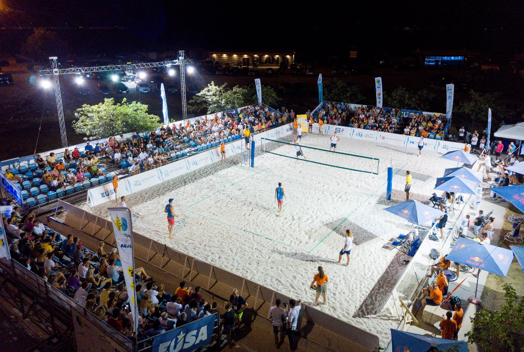 EUSA Beach volleyball 2017 championship