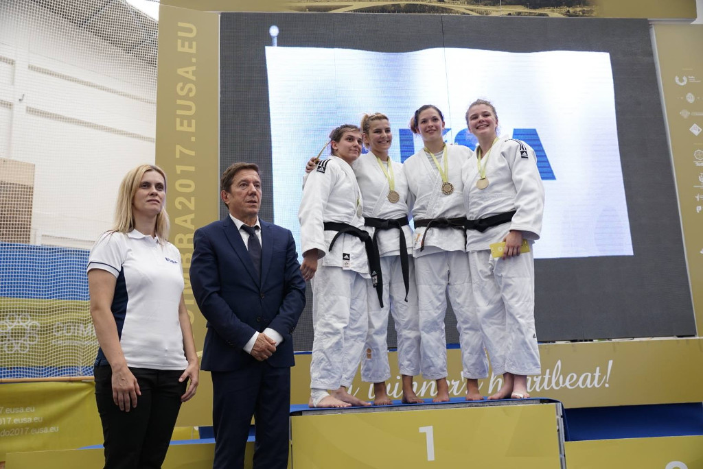 European Universities Judo Championship Coimbra 2017