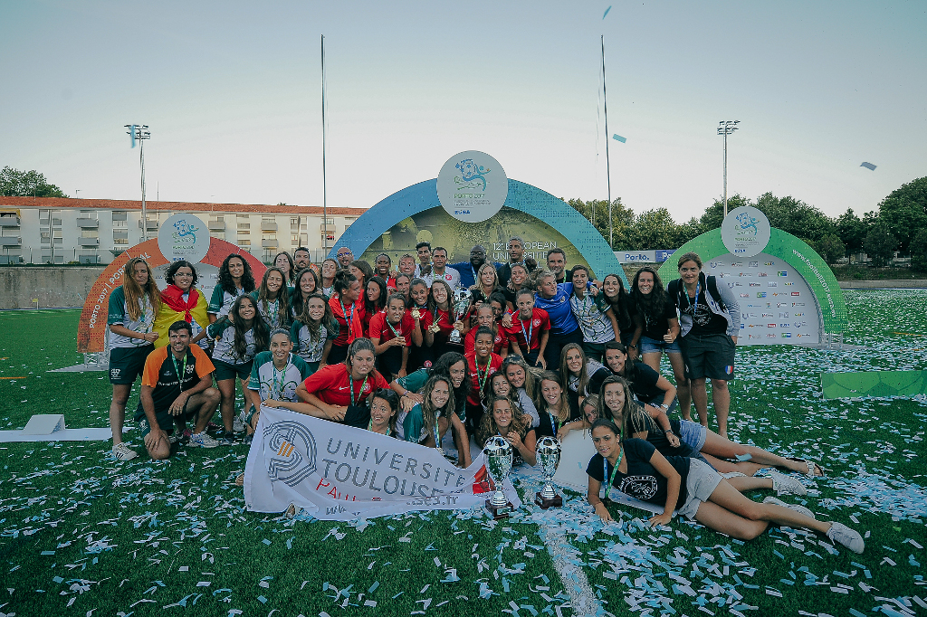 European Universities Football Championship EUSA 2017 Porto Portugal