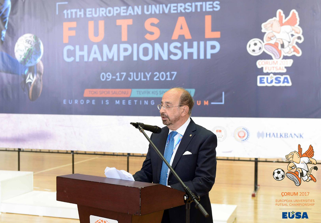European Universities Futsal Championship 2017 EUSA Corum Turkey