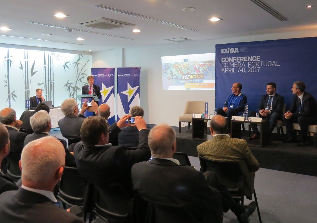 Presentation of #beactive campaign and the European Week of Sport