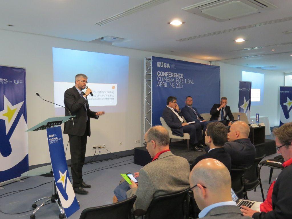 Mr Haris Pavletic presenting EUG2016