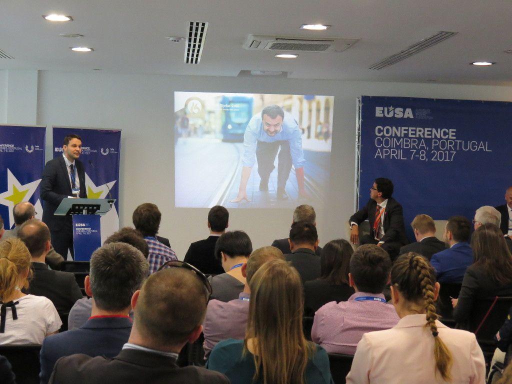 Mr Gordan Kozulj presenting European Universities Games 2016