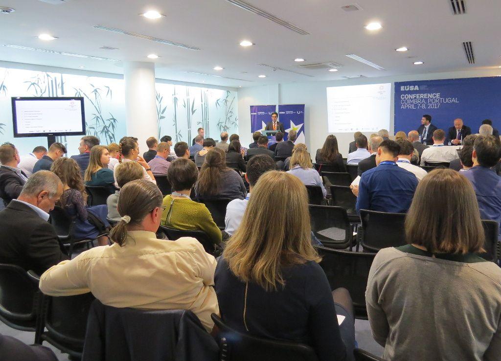 Presentation of EUG2018 by Mr Mario Santos