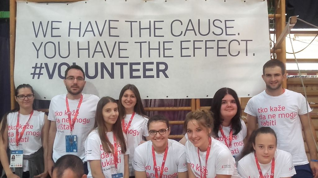 We have the cause. You have the effect. #volunteer