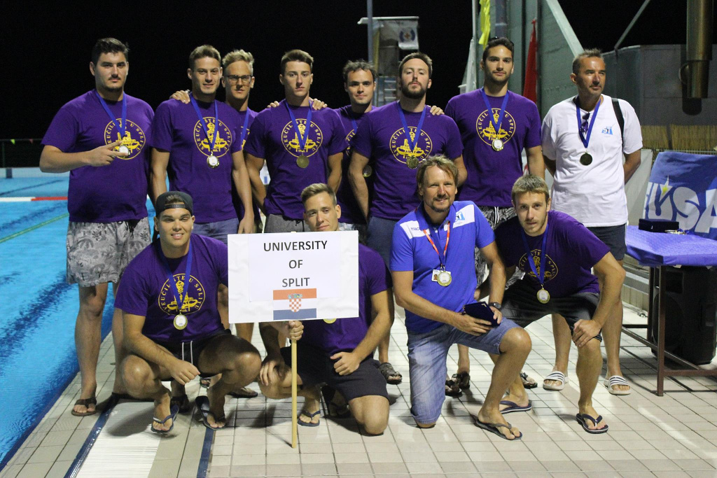 Winning team: University of Split (CRO)
