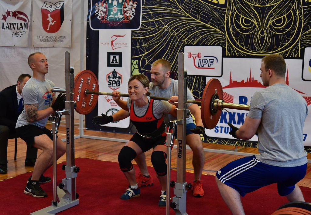 Powerlifting - one of the sports featured