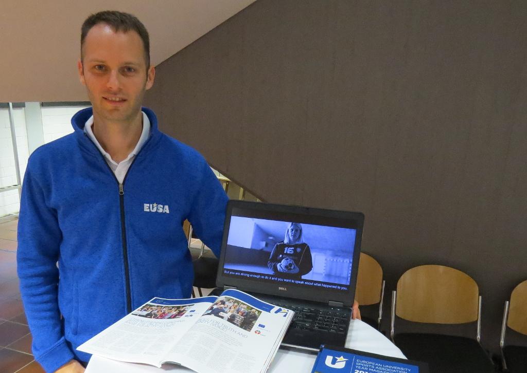EUSA representative Mr Andrej Pisl