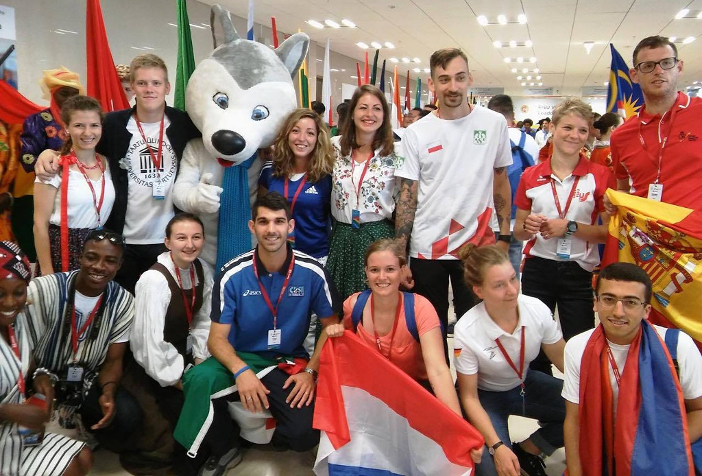 Cultural evening at the FISU Volunteers Academy