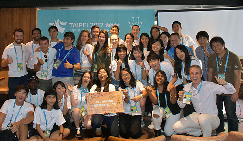 FISU Young Reporters programme