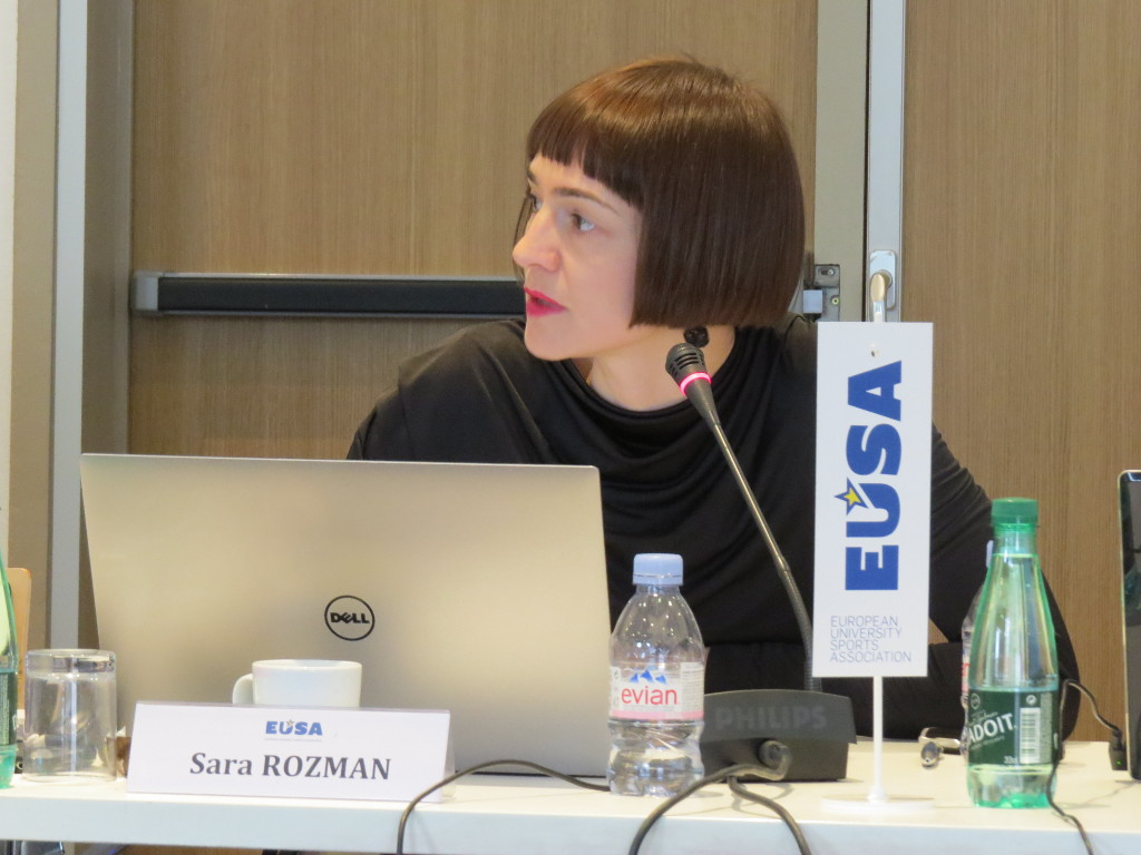 Sara Rozman Education and Development Manager