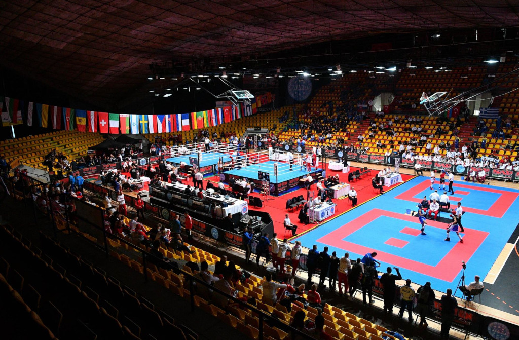 EUSA and CASF attend European Kickboxing Championships 2018
