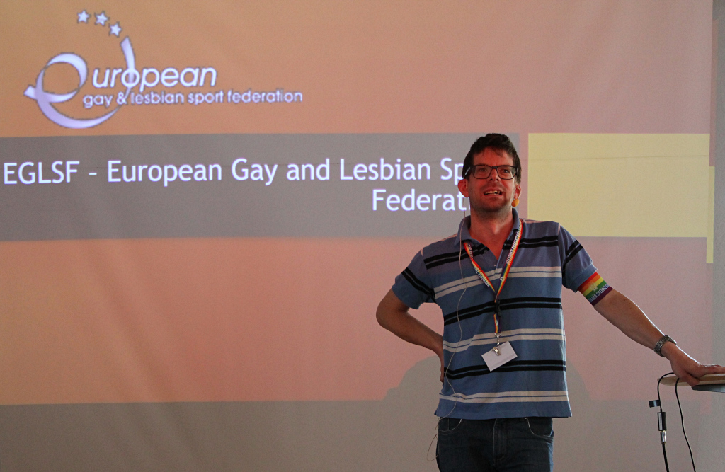 LGBT inclusion presented by Mr David Hofstetter