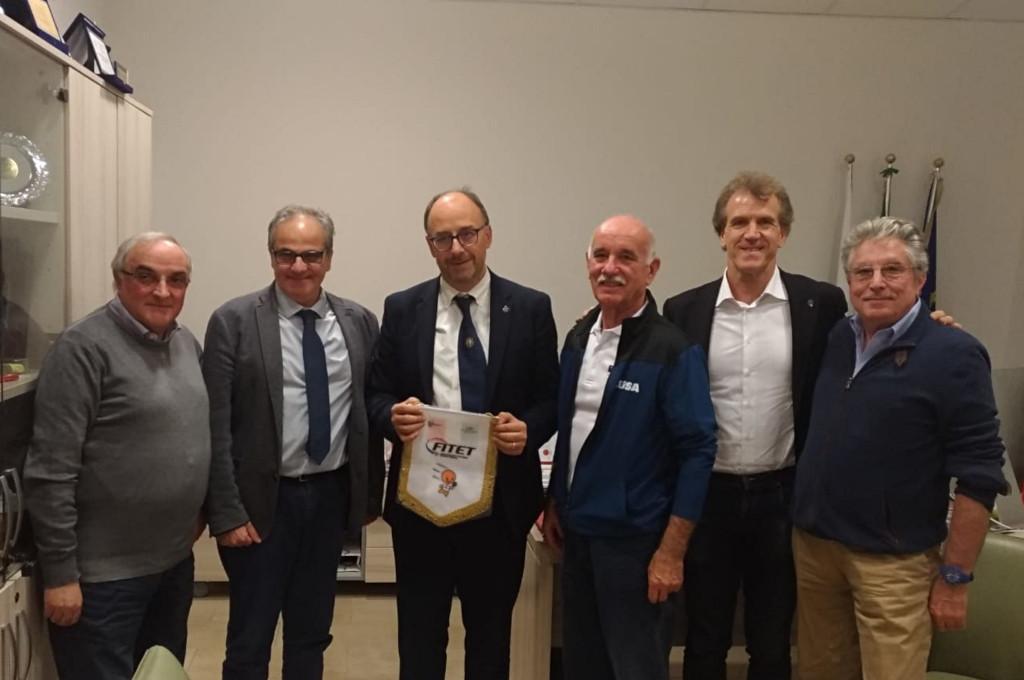Meeting with the Rector of the University of Camerino Mr Claudio Pettinari