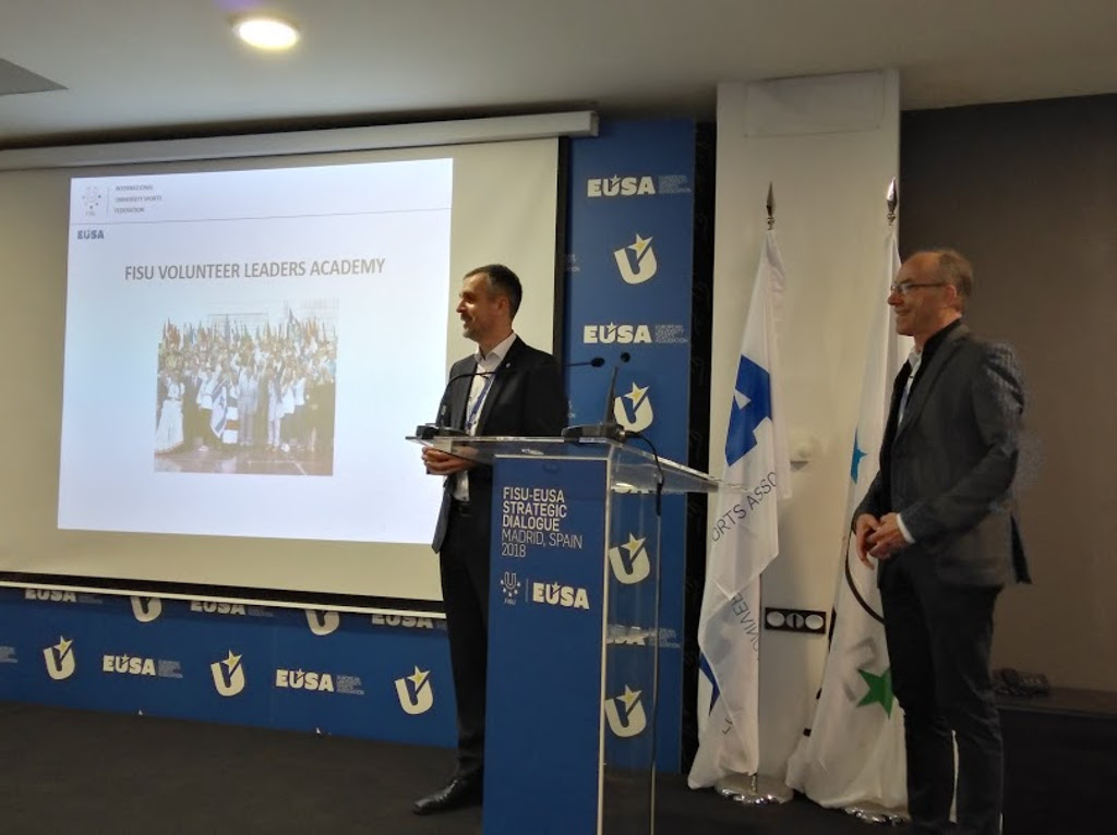 Presentation of cooperation fields between FISU and EUSA