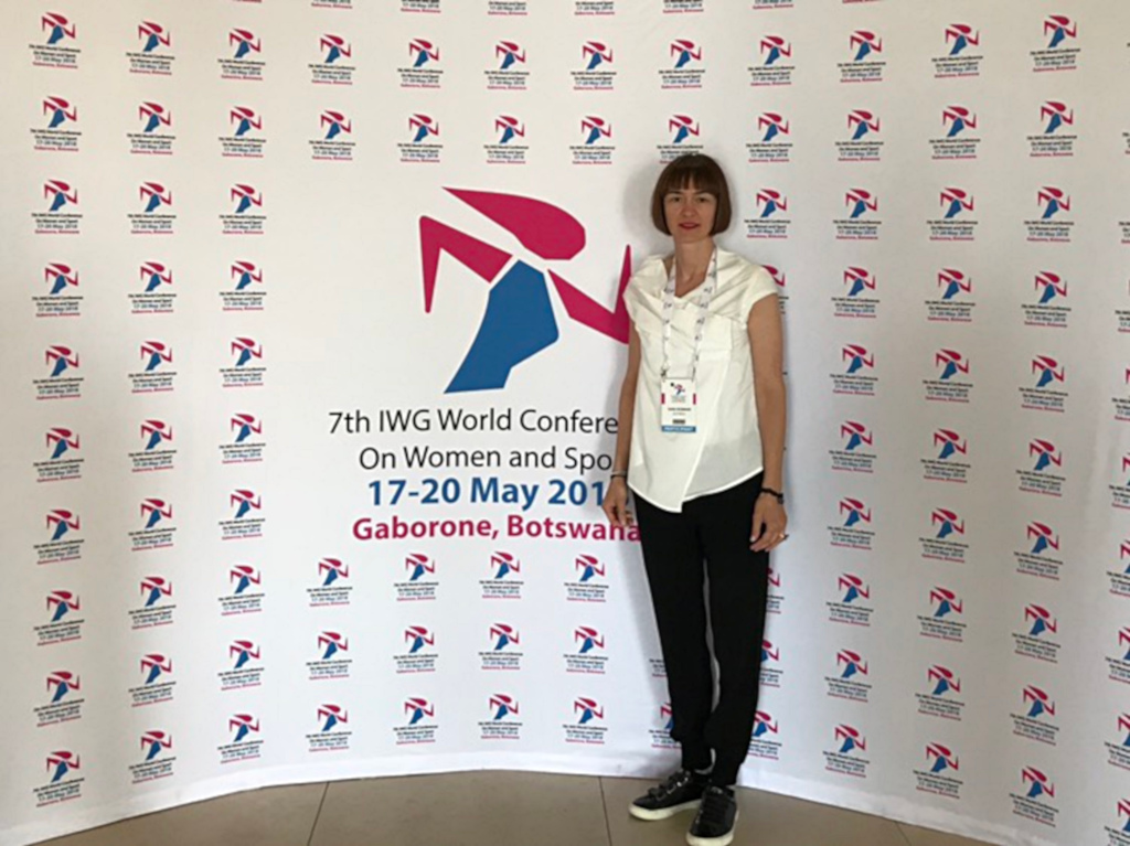 EUSA Education and Development Manager Ms Sara Rozman