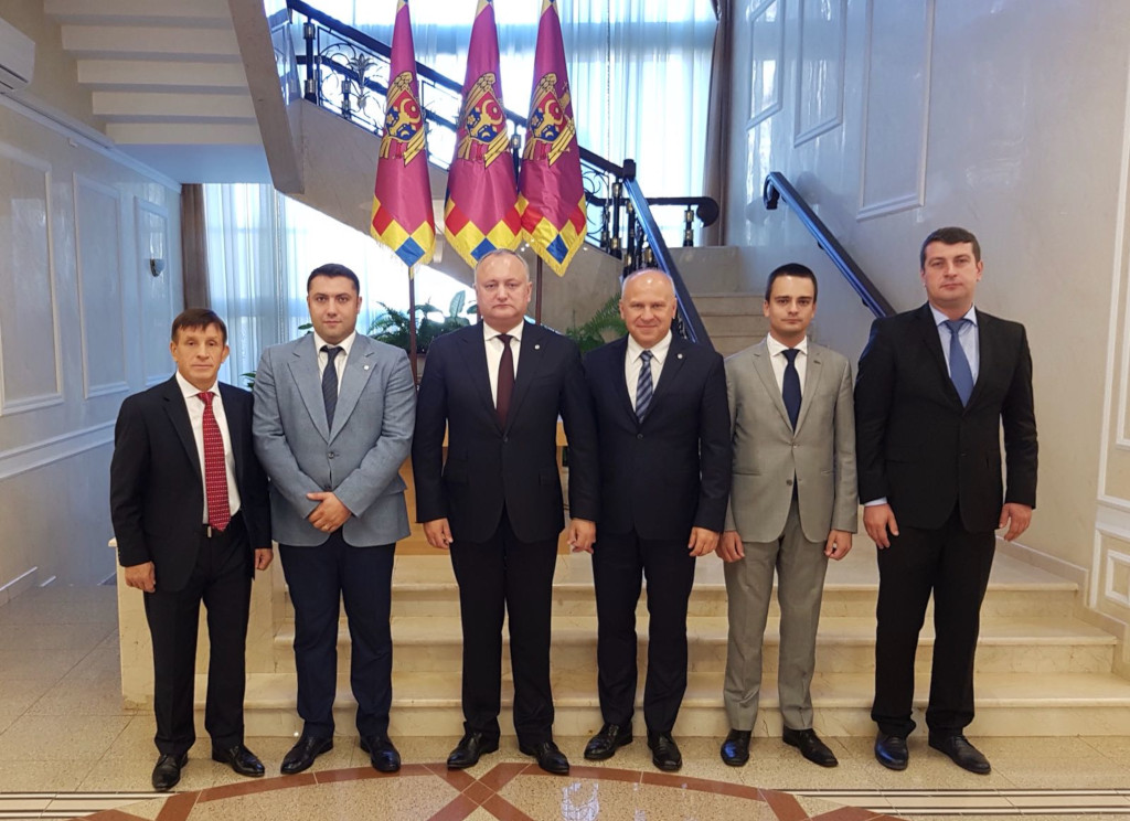 President of Moldova received the EUSA and NUSA delegation