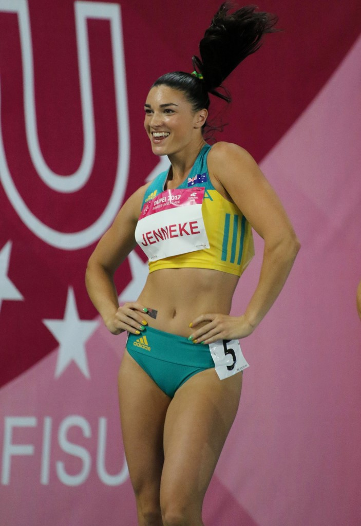 Universiade medalist and Olympian Athletics hurdler Michelle Jenneke is one of the more recognisable Australian athletes that combines top level sports and higher education