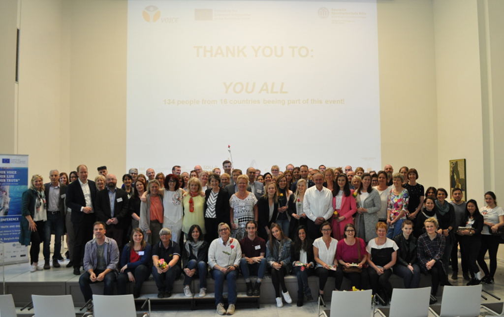 Participants at the VOICE Final Conference