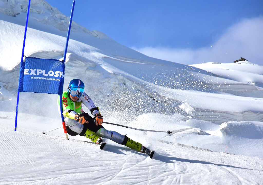 Alpine skier and student