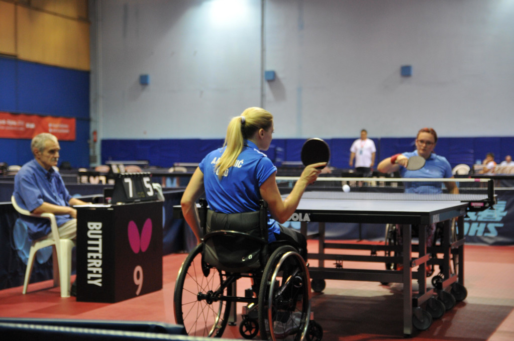 Para Table Tennis will form part of EUG2020