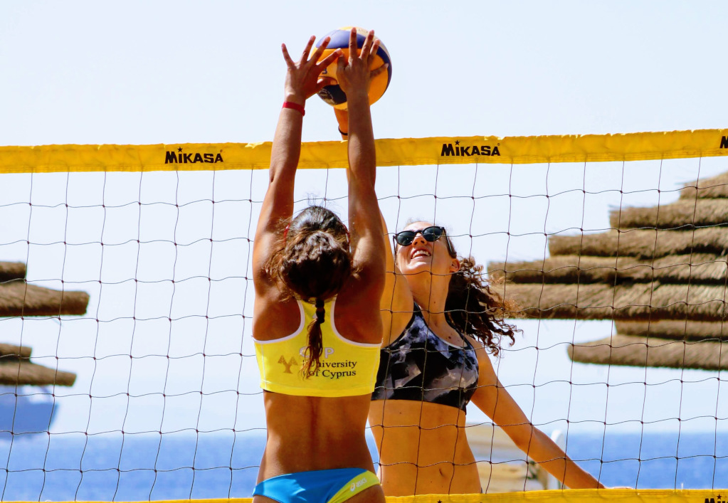 Volleyball players at ASA Championships in Israel