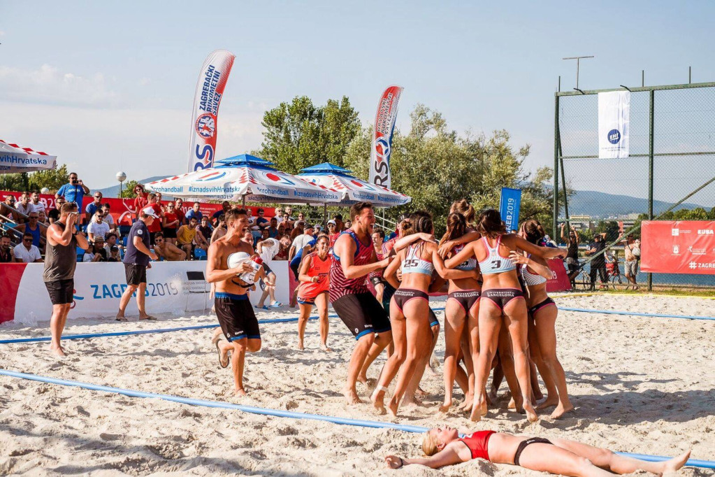 EUC Beach Handball 2019