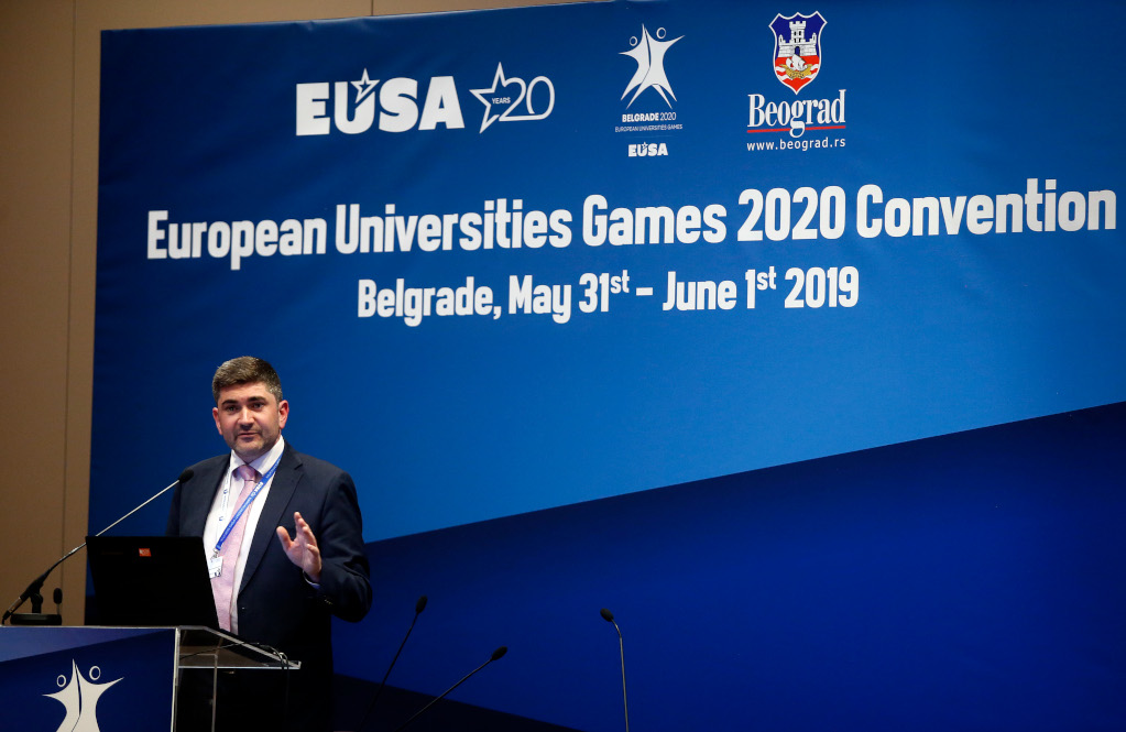 Neil Carney at EUG2020 Convention
