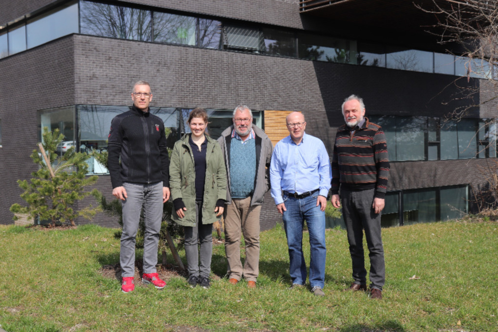 EUSA's inspection visit to Olomouc for Orienteering