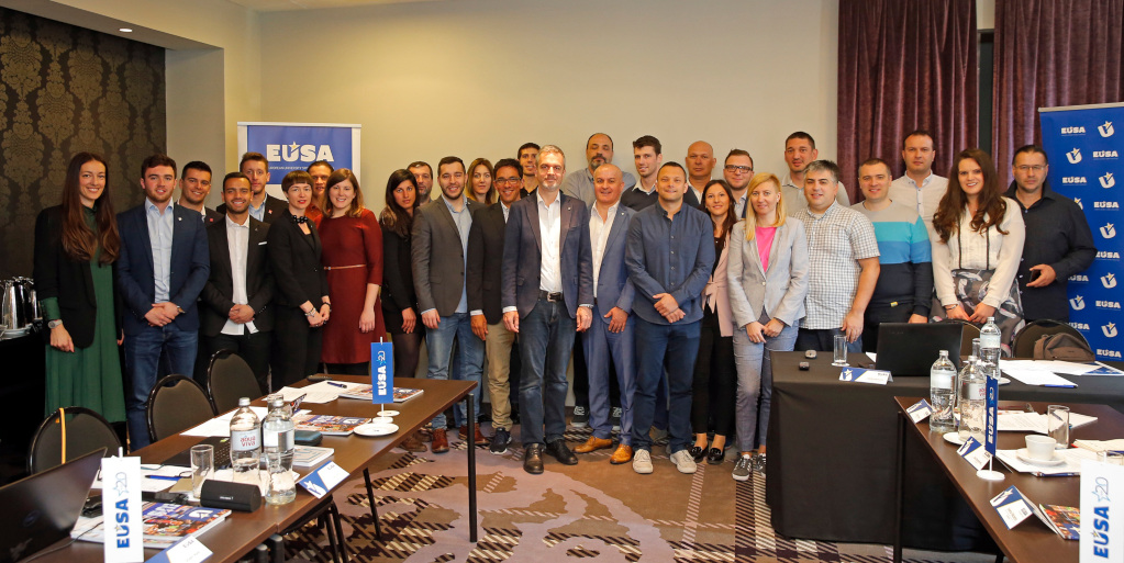 Transfer of Knowledge Meeting Belgrade Group photo 18 April 2019