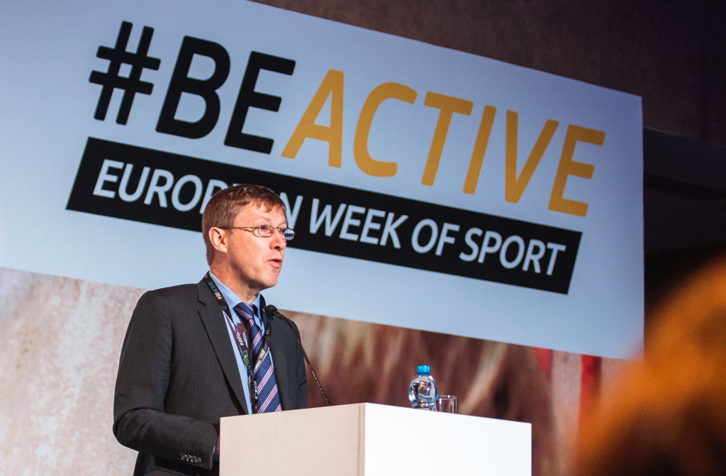 My Yves Le Lostecque, Head of Sport Unit of the European Commission